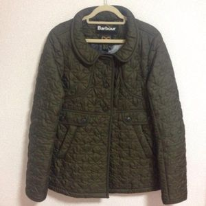 🇬🇧Barbour Anya Hindmarch OLIVE GREEN Minx Jacket